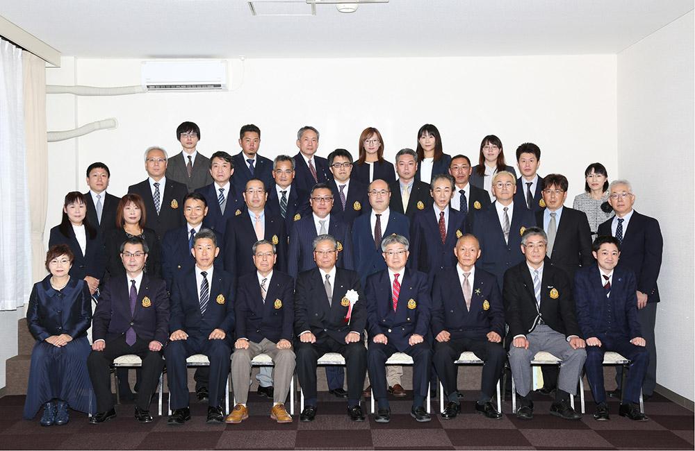棚倉町商工会設立60周年 役員集合写真